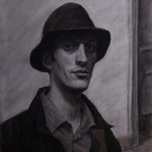 Auto-Portrait d'après Hopper