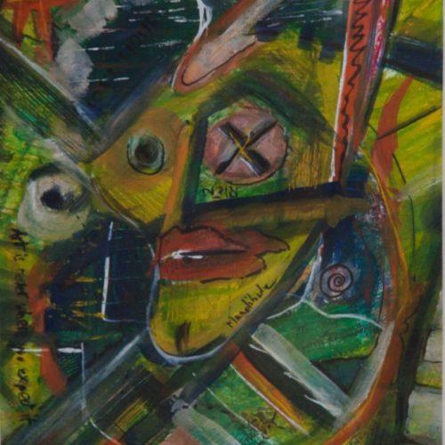 Autoportrait Borgne
